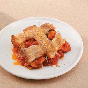 Sausage Pizza Casserole