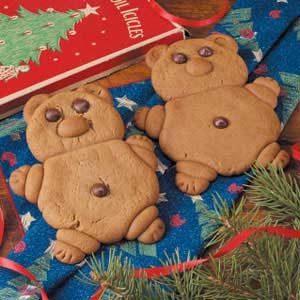Gingerbread Teddies