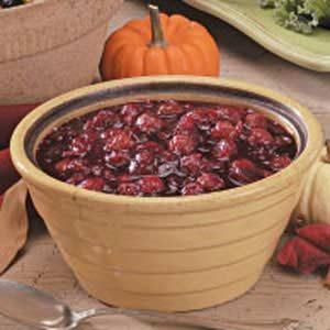 Cherry Cranberry Sauce