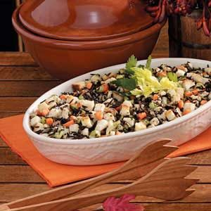 Wild Rice 'n' Bread Dressing