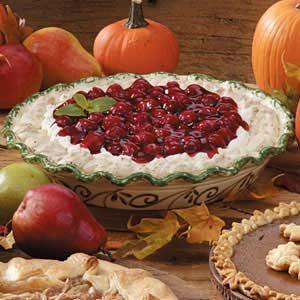 Cream Cheese Cherry Meringue Pie