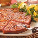 Orange Barbecued Ham