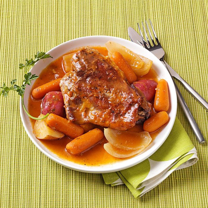 Turkey Thigh Supper