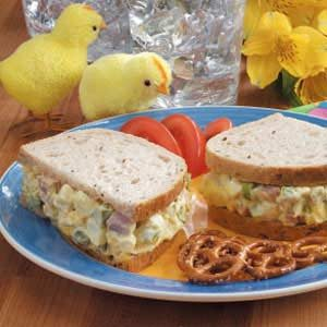Swiss 'n' Asparagus Egg Salad