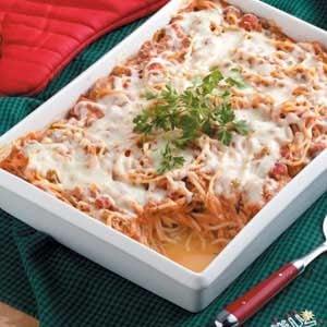 Baked Spaghetti Casserole