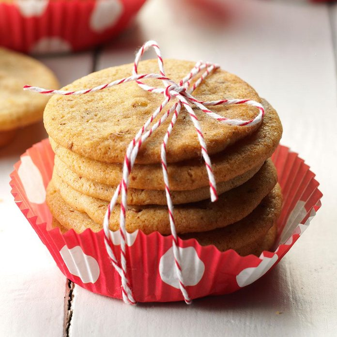 Anise Icebox Cookies