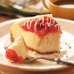 Contest-Winning White Chocolate Cheesecake
