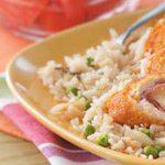 Quick Almon Rice Pilaf