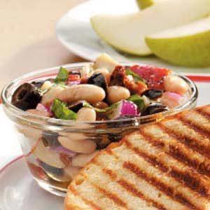 Colorful Tuscan Bean Salad