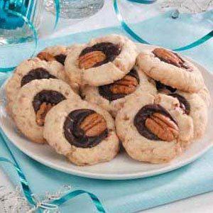 Fudge-Filled Toffee Cookies