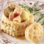 Artichoke Ham Puffs