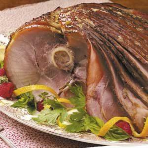 Honey-Glazed Spiral Ham