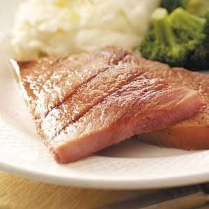 Grilled Ham Steaks