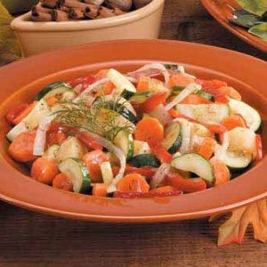 Glazed Vegetable Medley