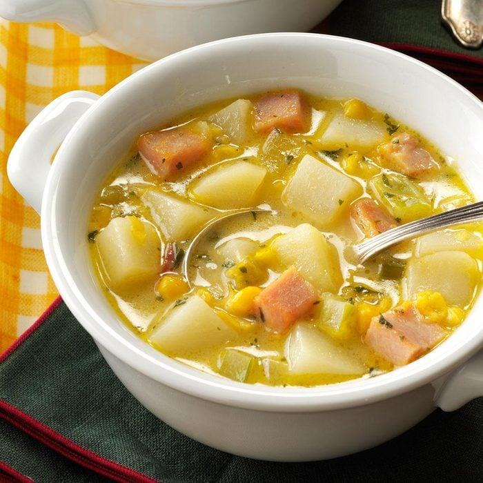 Fiesta Ham Soup