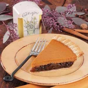 Mincemeat Pumpkin Pie