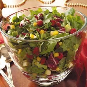 Mango-Berry Tossed Salad