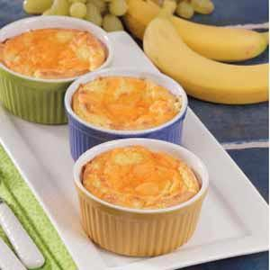 Twice-Baked Cheese Souffles