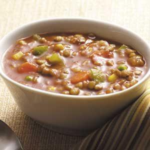 Hearty Veggie Lentil Soup