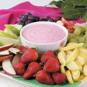 Raspberry Fruit Dip