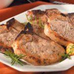 Moist Herbed Pork Chops