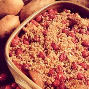 Berry Mallow Yam Bake