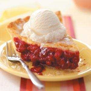 Favorite Fresh Raspberry Pie
