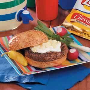 Chip 'n' Dip Burgers