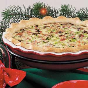 Bacon Broccoli Quiche