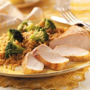 Gingered Chicken Dinner