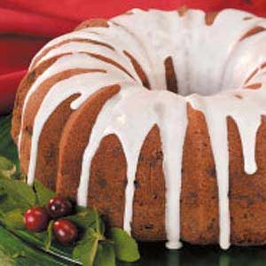 Apple-Raisin Bundt Cake