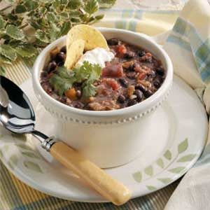 Home-Style Black Bean Soup