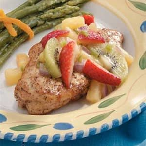 Chicken Breasts with Fruit Salsa