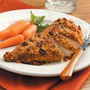 Contest-Winning Pecan-Crusted Chicken