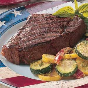 Spicy Grilled Steaks