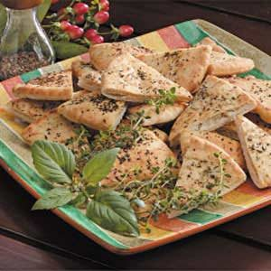Herbed Pita Chips