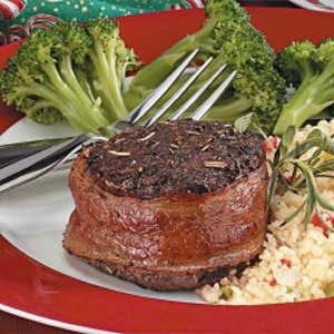 Bacon-Wrapped Beef Filets