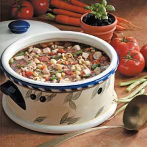 Basil Turkey Soup