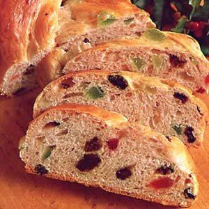 Christmas Bread.Christmas Braid