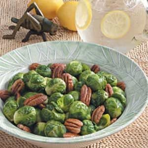Pecan Brussels Sprouts