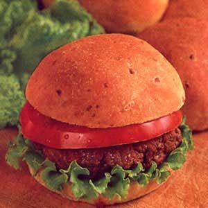 Cheesy Onion Burger Buns