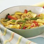 Yellow Squash and Peppers