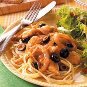 Honey-Orange Chicken and Pasta