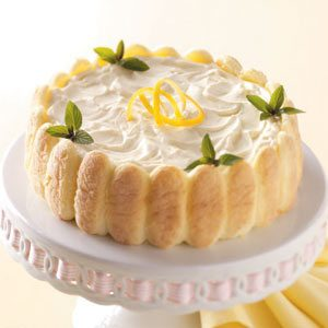 Lemon Ladyfinger Dessert