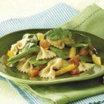 Spinach Bow Tie Pasta Salad