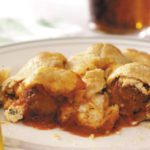 Italian Meatball Calzones