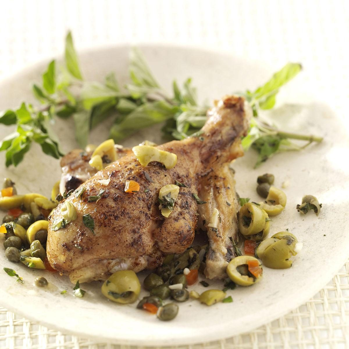 Oregano Olive Chicken