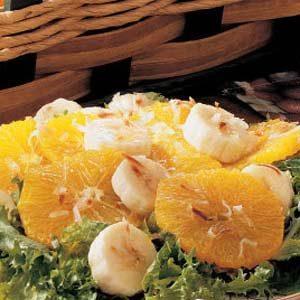 Banana Orange Salad