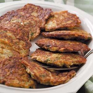 Zucchini and Potato Pancakes