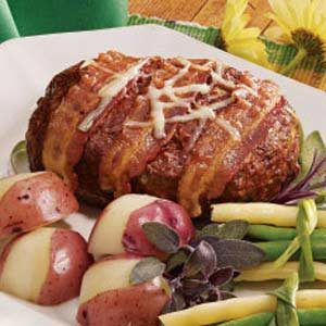Swiss Cheese Meat Loaf